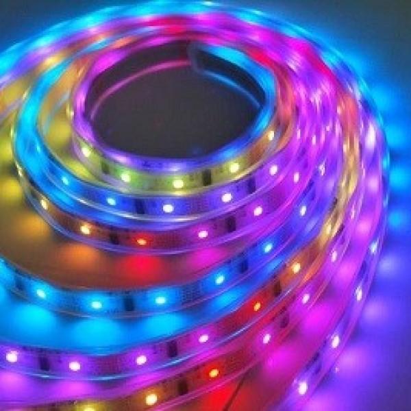 Şerit Led RGB 5050 Üç Çipli İç Mekan