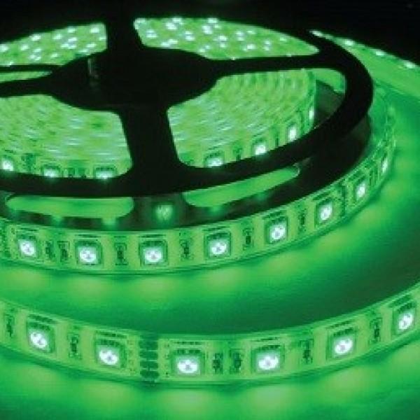 Şerit Led Yeşil 3 Çip Silikonlu