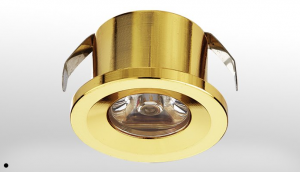 1 Watt sıva altı gold led spot
