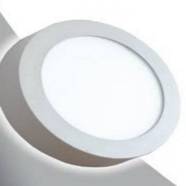 18w Yuvarlak Sıva Üstü LED Panel Beyaz