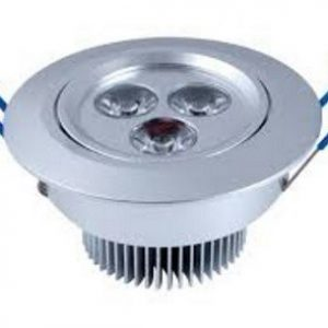 3x1w Power led Downlight