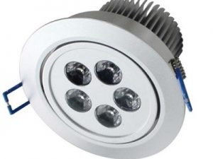 5x1w Power Led Downlight
