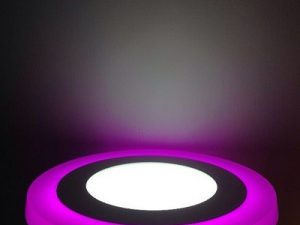 Akrilik Panel Led Spot Pembe 9w