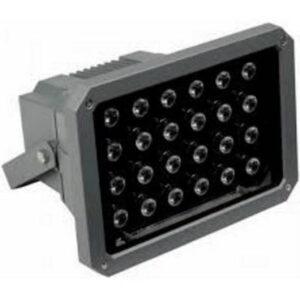 Dikdörtgen power led projektör 24x1 Watt