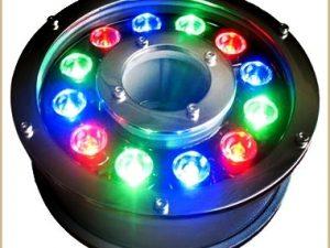 RGB Ledli Havuz süsleme armatürü