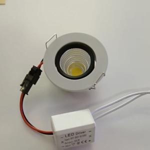 3w hareketli mini led spot
