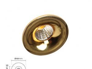 SLV-77039 Gold Spot Led 4000k