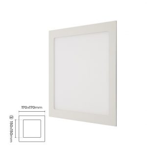 Silverled SLV-293 12W Kare Led Panel 150x170mm