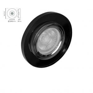 Siyah Cam Spot 10206